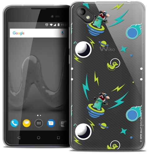 """Coque Gel Wiko Sunny 2 PLUS (5"""") Extra Fine Lapins Crétins™ - Space 1"""