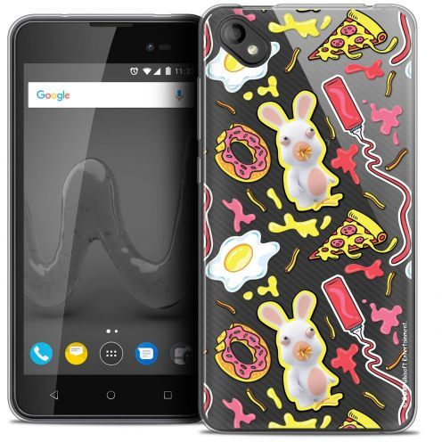 """Coque Gel Wiko Sunny 2 PLUS (5"""") Extra Fine Lapins Crétins™ - Egg Pattern"""