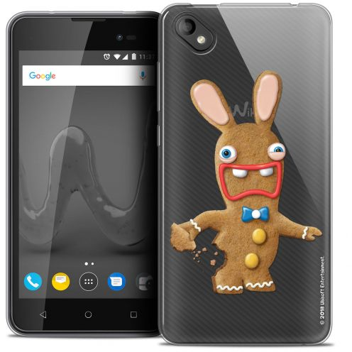 """Coque Gel Wiko Sunny 2 PLUS (5"""") Extra Fine Lapins Crétins™ - Cookie"""