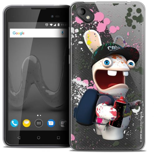 """Coque Gel Wiko Sunny 2 PLUS (5"""") Extra Fine Lapins Crétins™ - Painter"""