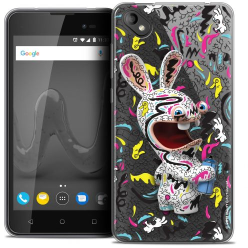 """Coque Gel Wiko Sunny 2 PLUS (5"""") Extra Fine Lapins Crétins™ - Tag"""