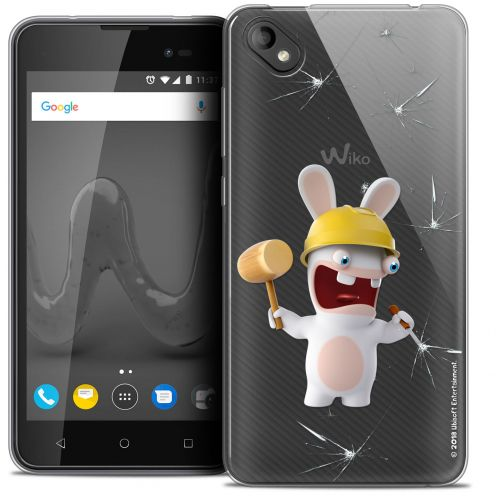 """Coque Gel Wiko Sunny 2 PLUS (5"""") Extra Fine Lapins Crétins™ - Breaker"""