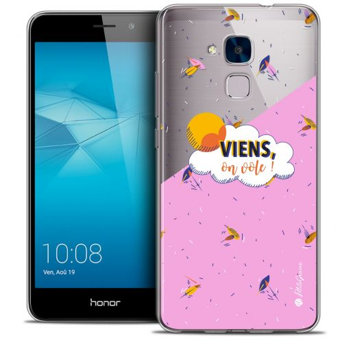 Coque Gel Huawei Honor 5C Extra Fine Petits Grains® - VIENS, On Vole !