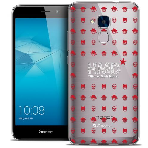 Coque Gel Huawei Honor 5C Extra Fine Petits Grains® - HMD* Hero en Mode Discret