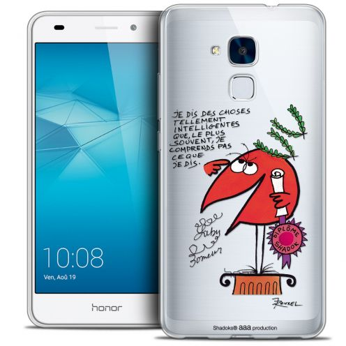 Coque Gel Huawei Honor 5C Extra Fine Les Shadoks® - Intelligent