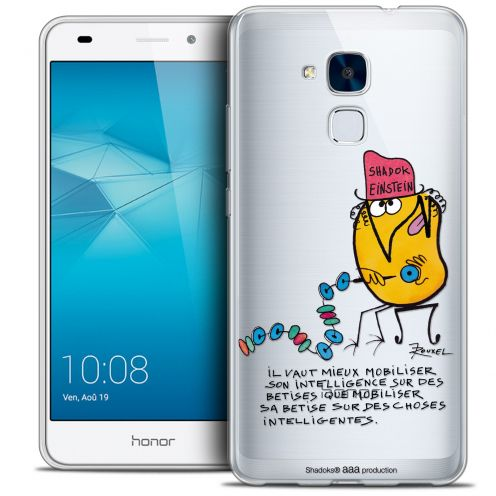 Coque Gel Huawei Honor 5C Extra Fine Les Shadoks® - Einstein