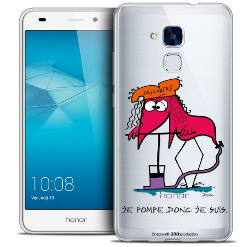 Coque Gel Huawei Honor 5C Extra Fine Les Shadoks® - Donc Je Suis