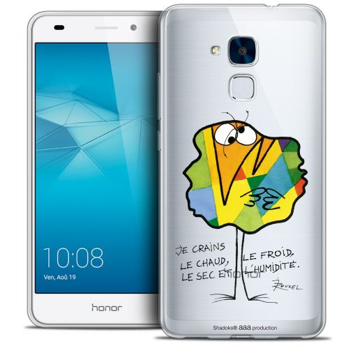 Coque Gel Huawei Honor 5C Extra Fine Les Shadoks® - Chaud ou Froid