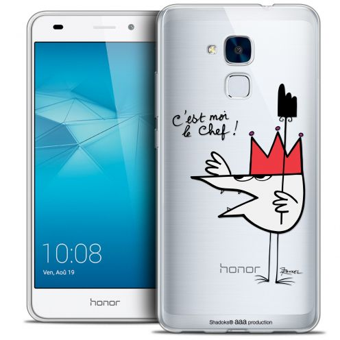 Coque Gel Huawei Honor 5C Extra Fine Les Shadoks® - Le Chef