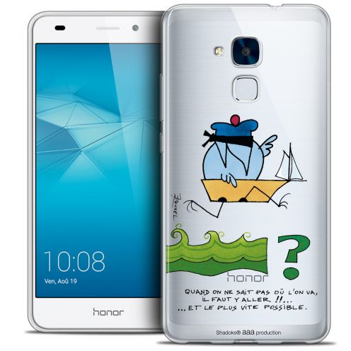 Coque Gel Huawei Honor 5C Extra Fine Les Shadoks® - Il Faut Y Aller !!