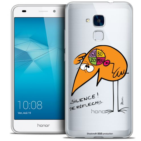 Coque Gel Huawei Honor 5C Extra Fine Les Shadoks® - Silence !