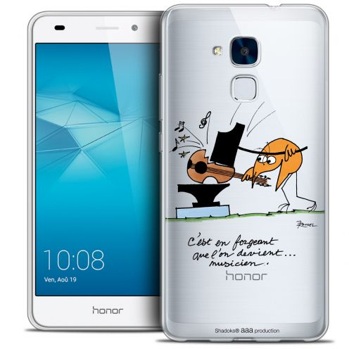 Coque Gel Huawei Honor 5C Extra Fine Les Shadoks® - Musicien