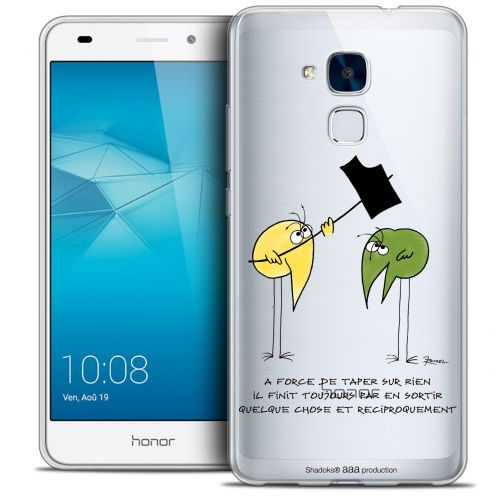 Coque Gel Huawei Honor 5C Extra Fine Les Shadoks® - A Force