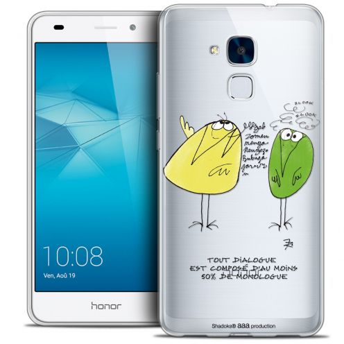 Coque Gel Huawei Honor 5C Extra Fine Les Shadoks® - Le Dialogue