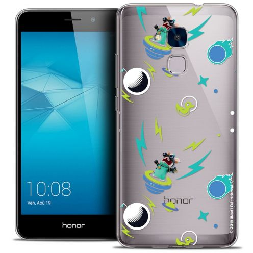 Coque Gel Huawei Honor 5C Extra Fine Lapins Crétins™ - Space 1