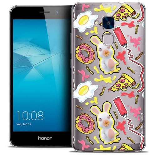 Coque Gel Huawei Honor 5C Extra Fine Lapins Crétins™ - Egg Pattern