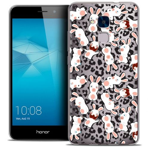 Coque Gel Huawei Honor 5C Extra Fine Lapins Crétins™ - Leopard Pattern