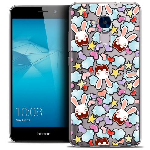 Coque Gel Huawei Honor 5C Extra Fine Lapins Crétins™ - Love Pattern