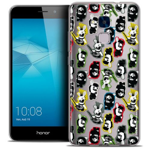 Coque Gel Huawei Honor 5C Extra Fine Lapins Crétins™ - Punk Pattern