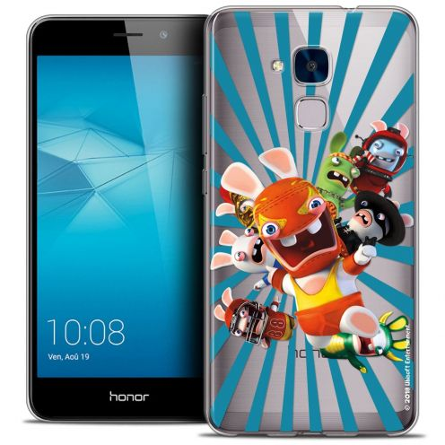Coque Gel Huawei Honor 5C Extra Fine Lapins Crétins™ - Super Heros