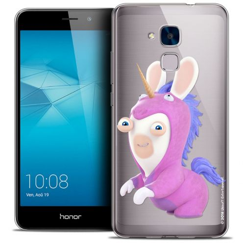 Coque Gel Huawei Honor 5C Extra Fine Lapins Crétins™ - Licorne