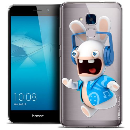 Coque Gel Huawei Honor 5C Extra Fine Lapins Crétins™ - Techno Lapin