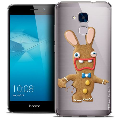 Coque Gel Huawei Honor 5C Extra Fine Lapins Crétins™ - Cookie