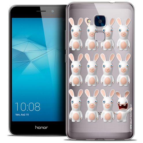 Coque Gel Huawei Honor 5C Extra Fine Lapins Crétins™ - Im ready Pattern