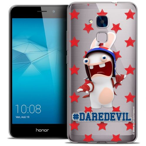 Coque Gel Huawei Honor 5C Extra Fine Lapins Crétins™ - Dare Devil