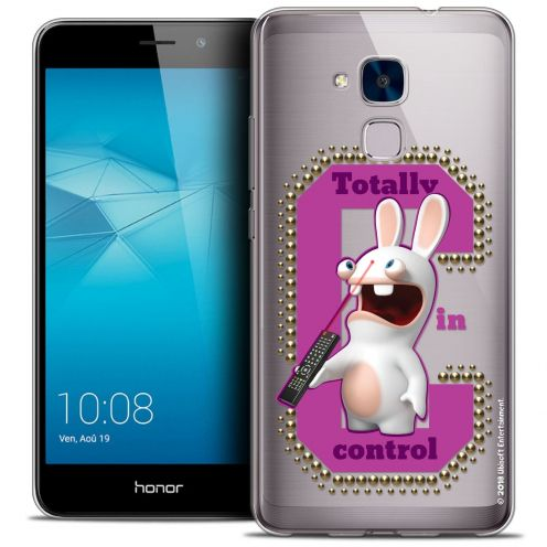 Coque Gel Huawei Honor 5C Extra Fine Lapins Crétins™ - In Control !