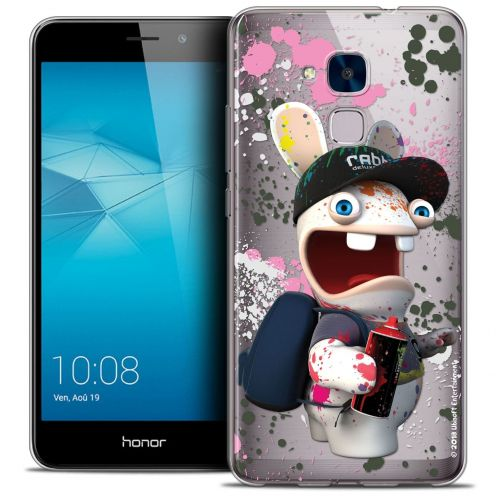 Coque Gel Huawei Honor 5C Extra Fine Lapins Crétins™ - Painter