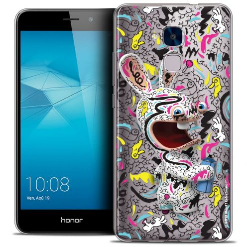 Coque Gel Huawei Honor 5C Extra Fine Lapins Crétins™ - Tag