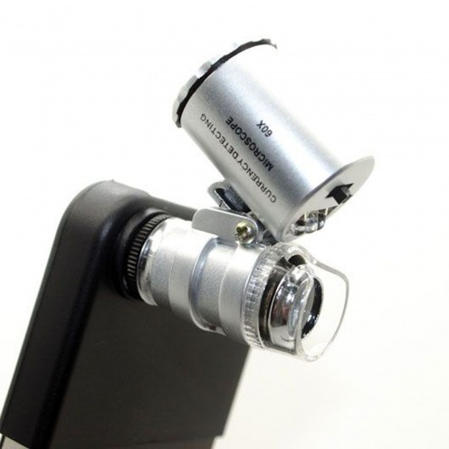 Objectif Microscope 60X Avec LED pour iPhone 4 / 4S