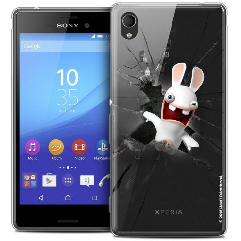 Coque Sony Xperia M4 Aqua Extra Fine Lapins Crétins™ - Breaking Glass