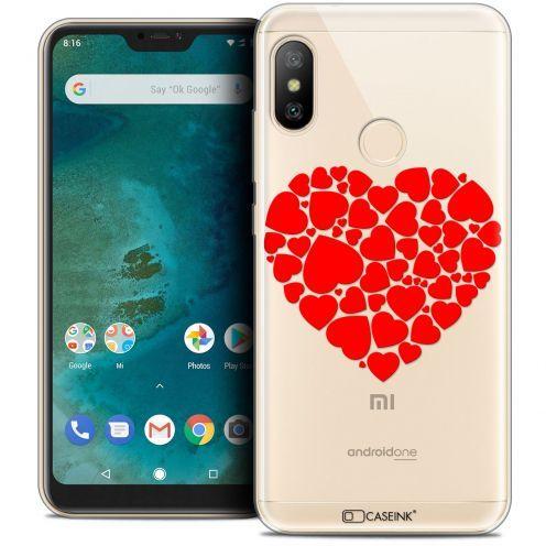 """Coque Crystal Gel Xiaomi Mi A2 LITE (5.8"""") Extra Fine Love - Coeur des Coeurs"""