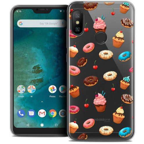 "Coque Crystal Gel Xiaomi Mi A2 LITE (5.8"") Extra Fine Foodie - Donuts"