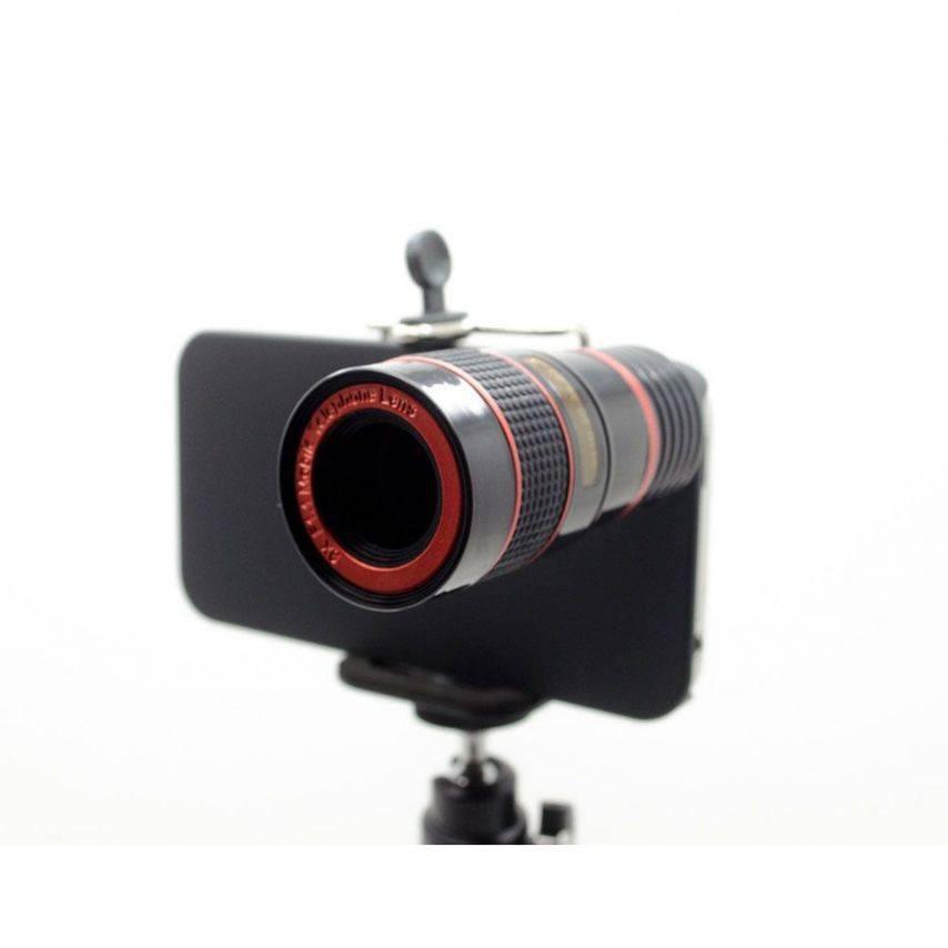 Visuel supplémentaire de Télé-objectif ZOOM 8X F1.1 Photo / Video iPhone 4 / 4S