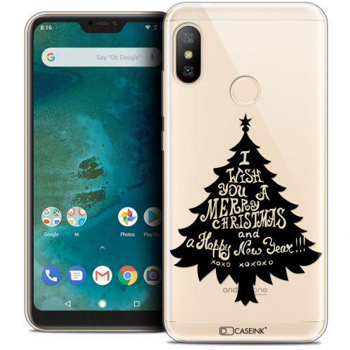"Coque Crystal Gel Xiaomi Mi A2 LITE (5.8"") Extra Fine Noël 2017 - XOXO Tree"