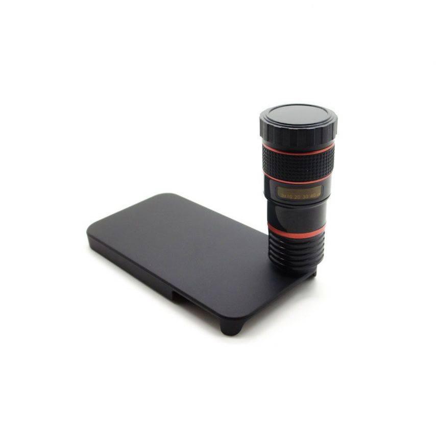 Vue complémentaire de Télé-objectif ZOOM 8X F1.1 Photo / Video iPhone 4 / 4S