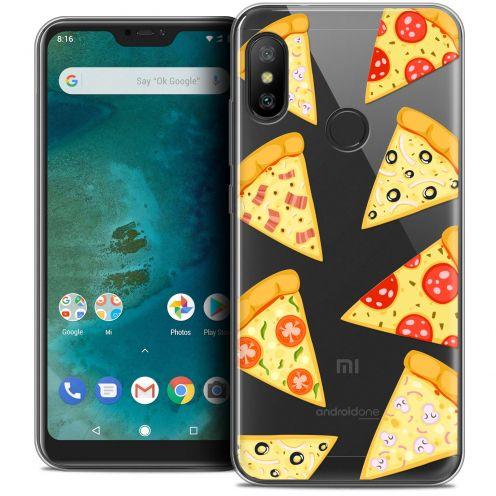 "Coque Crystal Gel Xiaomi Mi A2 LITE (5.8"") Extra Fine Foodie - Pizza"