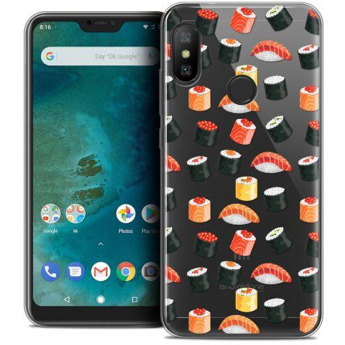"Coque Crystal Gel Xiaomi Mi A2 LITE (5.8"") Extra Fine Foodie - Sushi"
