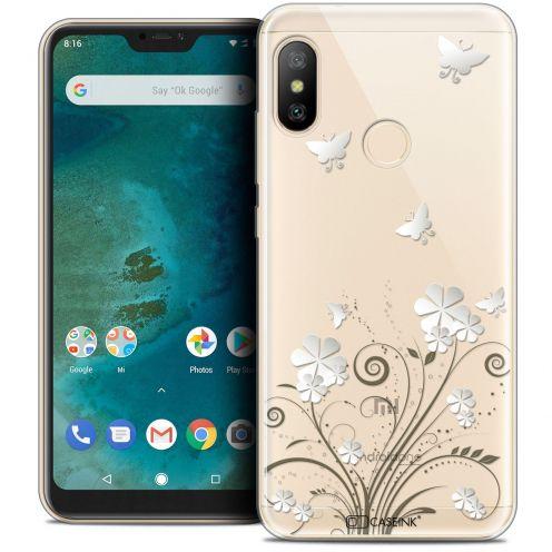 "Coque Crystal Gel Xiaomi Mi A2 LITE (5.8"") Extra Fine Summer - Papillons"