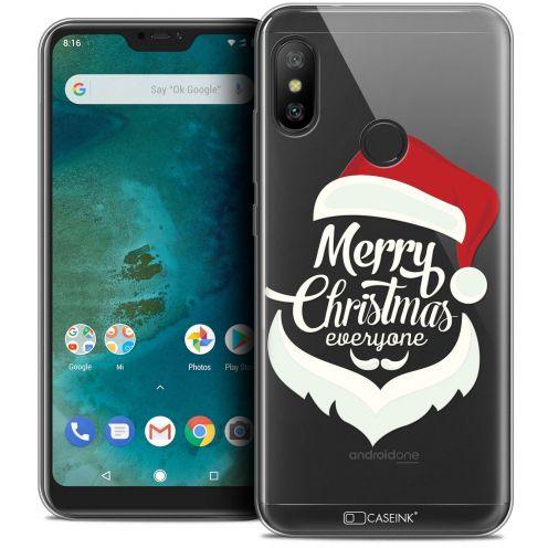 "Coque Crystal Gel Xiaomi Mi A2 LITE (5.8"") Extra Fine Noël 2017 - Merry Everyone"