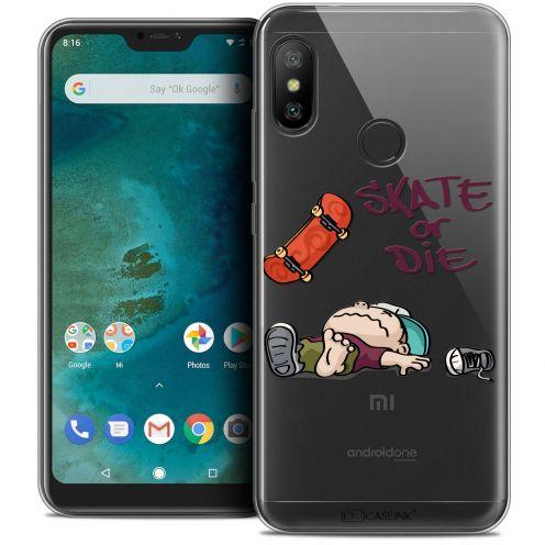 "Coque Crystal Gel Xiaomi Mi A2 LITE (5.8"") Extra Fine BD 2K16 - Skate Or Die"