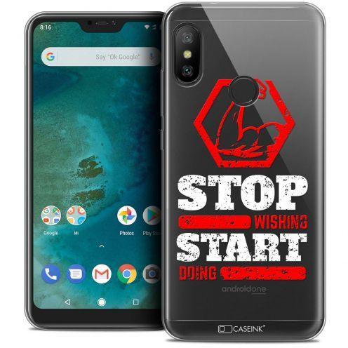 "Coque Crystal Gel Xiaomi Mi A2 LITE (5.8"") Extra Fine Quote - Start Doing"
