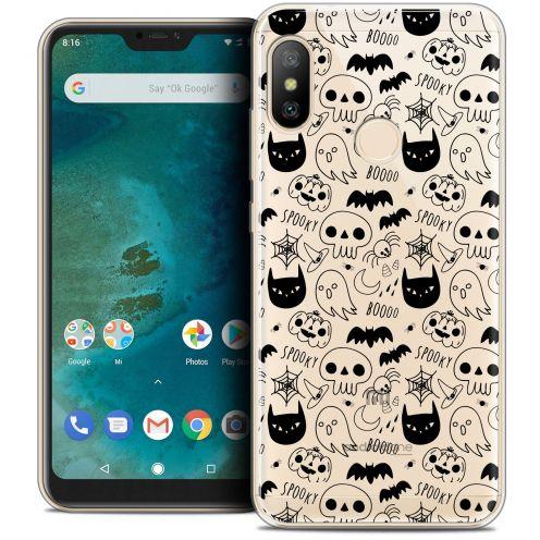 "Coque Crystal Gel Xiaomi Mi A2 LITE (5.8"") Extra Fine Halloween - Spooky"