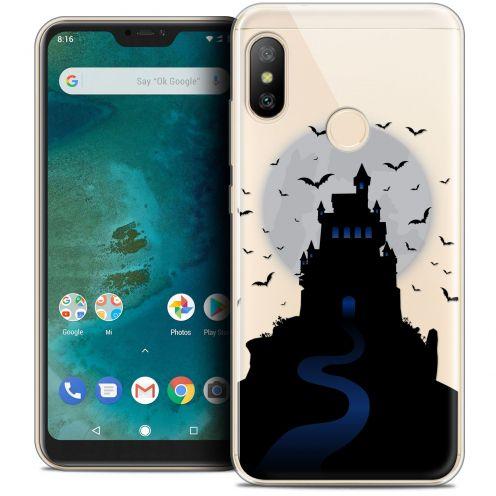 "Coque Crystal Gel Xiaomi Mi A2 LITE (5.8"") Extra Fine Halloween - Castle Nightmare"