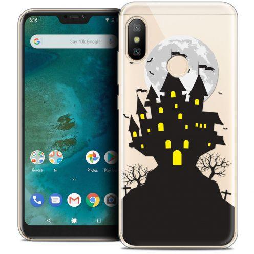 "Coque Crystal Gel Xiaomi Mi A2 LITE (5.8"") Extra Fine Halloween - Castle Scream"