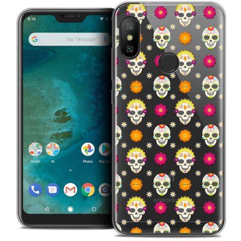 "Coque Crystal Gel Xiaomi Mi A2 LITE (5.8"") Extra Fine Halloween - Skull Halloween"
