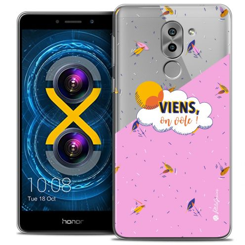 Coque Gel Huawei Honor 6X Extra Fine Petits Grains® - VIENS, On Vole !